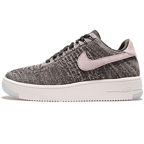 84b6eb276ff2 Nike Woman s Nike Air Force 1 Ultra Flyknit Low Black And Pink Sneaker  40(IT) - 10(US) Multicolour  Amazon.ca  Shoes   Handbags