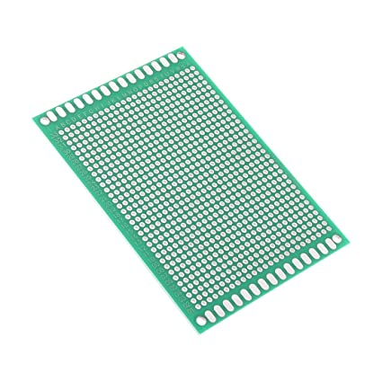 uxcell 7x10cm Double Sided Universal Printed Circuit Board for DIY Soldering