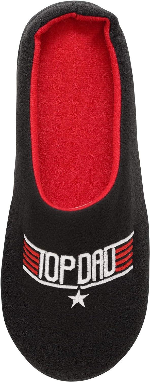 Keanu - Zapatillas para hombre, diseño de Papá Noel, regalo para el Día del Padre, tallas de Reino Unido 7-8, 9-10 y 11-12
