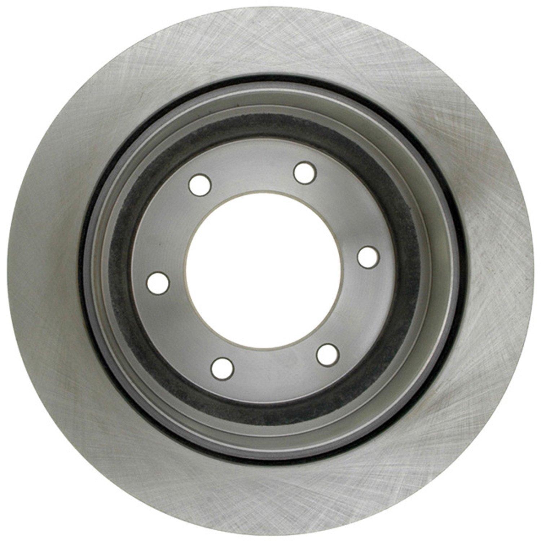ACDelco 18A570A Advantage Non-Coated Rear Disc Brake Rotor