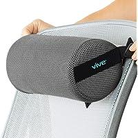 Vive Lumbar Roll – Almohada de apoyo para cojín cervical – Alivio del dolor de la espalda baja en el coche, silla de…