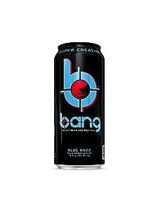 VPX Bang, Blue Razz, 16 Fl Oz (12 Count)
