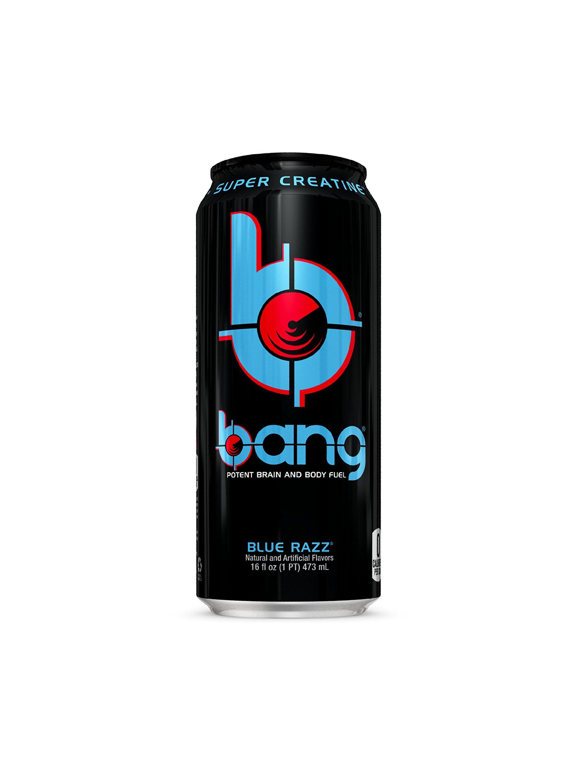 VPX Bang, Blue Razz, 16 fl.oz, 12 Count