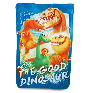 Official Disney The Good Dinosaur Fleece Blanket Boys Character Ario Spot Bed  Throw Winter a3738aee8