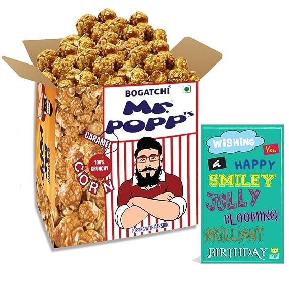 Bogatchi Mr Popp S Caramel Popcorn 100 Crunchy Gourmet Popcorn