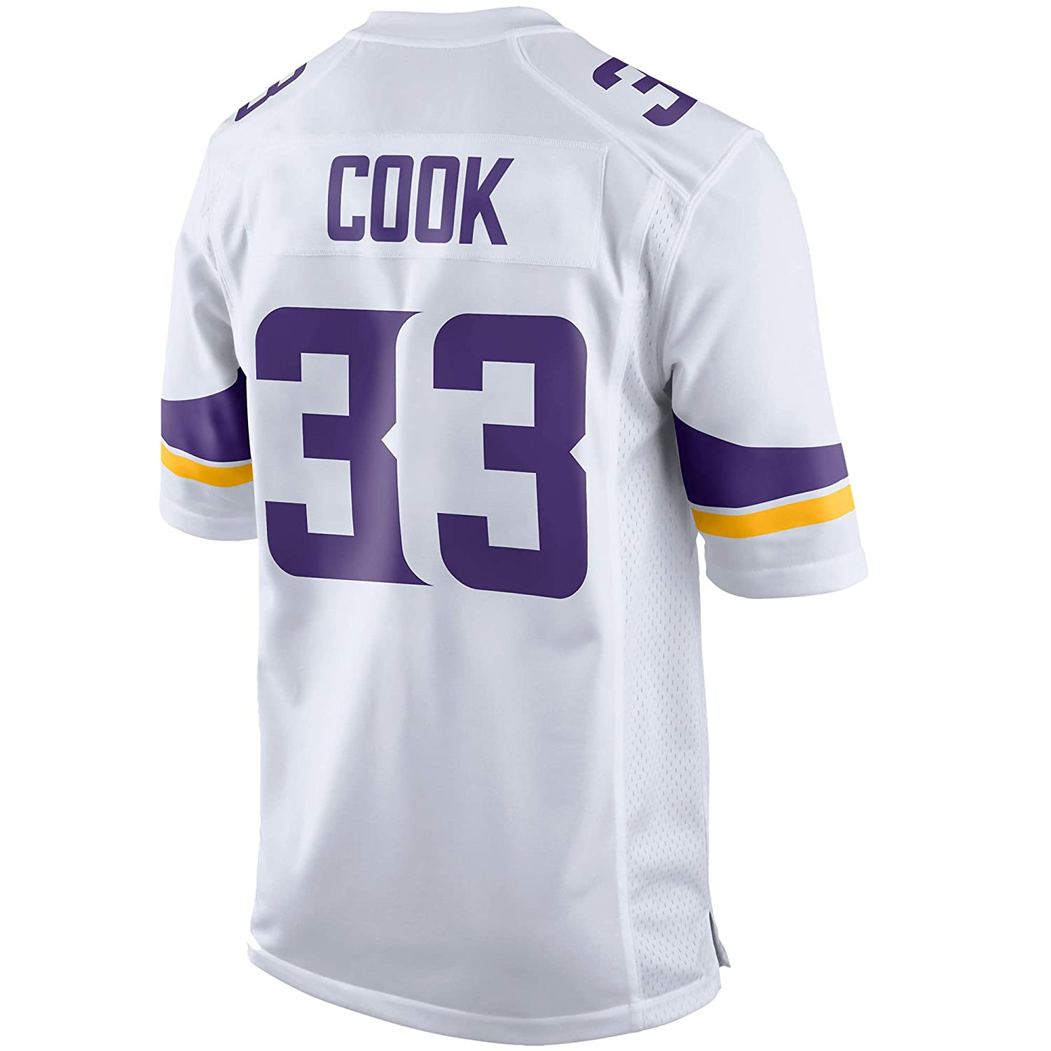 TOU DLE Men's Women's Youth_Dalvin_Cook_White_Game_Jersey