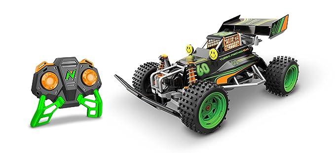 Nikko 9027 60th Anniversary Turbo Panther - Mando a Distancia para Coche, Color Negro y Verde: Amazon.es: Juguetes y juegos