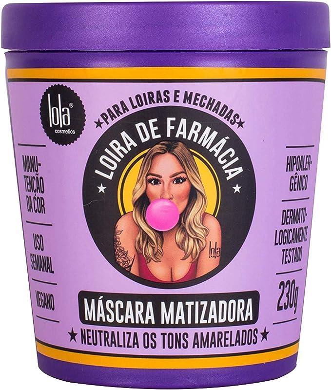 Lola Cosmetics Loira De Farmácia - Máscara Matizadora 230G