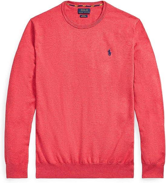 Polo Ralph Lauren Camiseta Hombre 710744679 Coral: Amazon.es: Ropa y accesorios
