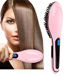 Heaven Extreme LED Straightening and Detangling Heated Hair Brush