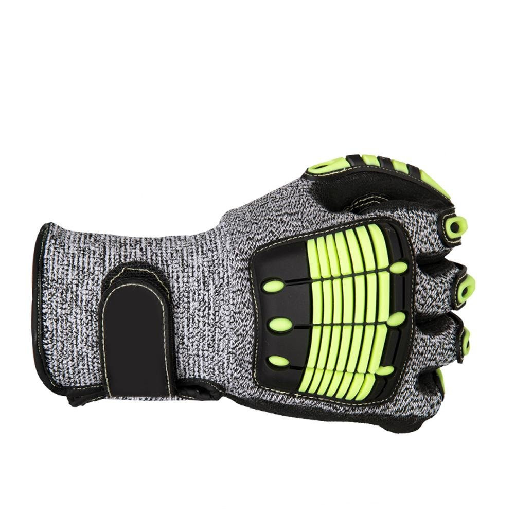 Outdoor sports climbing gloves anti - collision high - altitude work loading and unloading rubber safety equipment by LIXIANG (Image #4)
