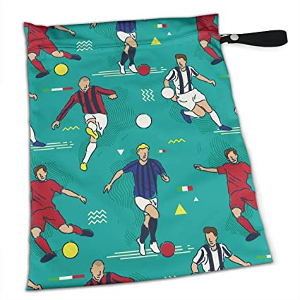 Amazon com: Pummbaby Soccer Players Workout Laundry Reusable Wet Dry