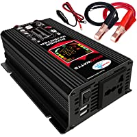 Inversor de onda sinusoidal modificada Alta frecuencia 6000W Potencia Watt Inversor de corriente DC 12V a CA 110V…