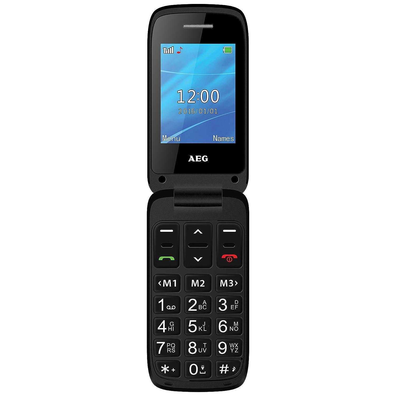 AEG Voxtel SM420 - Móvil Libre con Pantalla DE 2.4