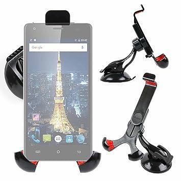 DURAGADGET Soporte Giratorio para Coche para Smartphone Cubot King ...