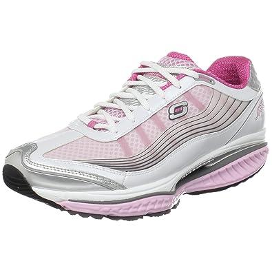 Skechers Resistor 12370 BKHP - Zapatillas de fitness para mujer, color negro, talla 41, Blanco (Weiß/Rosa), 36: Amazon.es: Zapatos y complementos