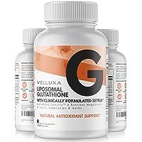 Liposomal Glutathione Setria® (600 mg) - Pure Reduced Glutathione Capsules for Skin...