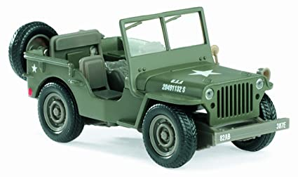 Amazon Com New Ray 61057 Jeep Willys Model Car Toys Games