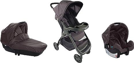 Mon Bebe cochecito Trio Amble Ebony Grey: Amazon.es: Bebé