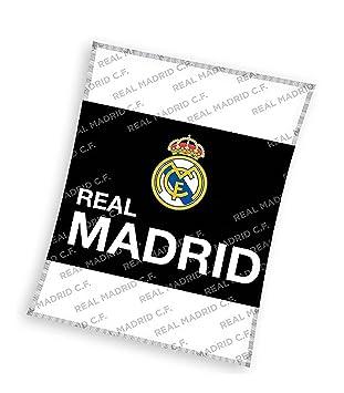 Amazon.com: Real Madrid Fleece Blanket, Queen Size (59