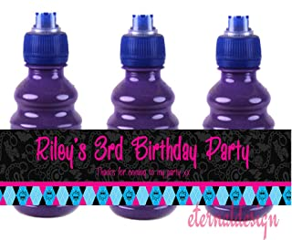 Eternal Design 7 x Personalised Kids Birthday Party Fruit Shoot Wrappers KBFS 29
