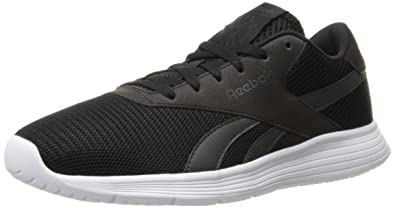 Reebok Men's Royal Ec Ride Fashion Sneaker, Black/Gravel/White, 3.5 M