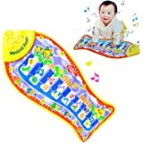 Amazon Com Fisher Price Kick And Play Piano Baby