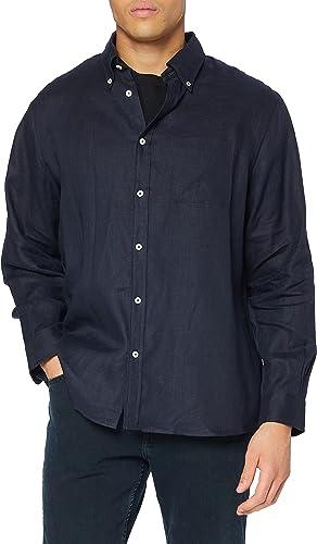 BROOKS BROTHERS Camicia Regent Taschino Manica Lunga Camiseta ...