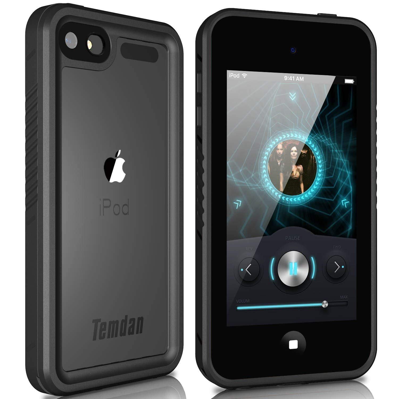 Temdan iPod Touch 5/6 IP68 boî tier é tanche avec bé quille Antichoc Coque é tanche pour iPod Touch 5/6