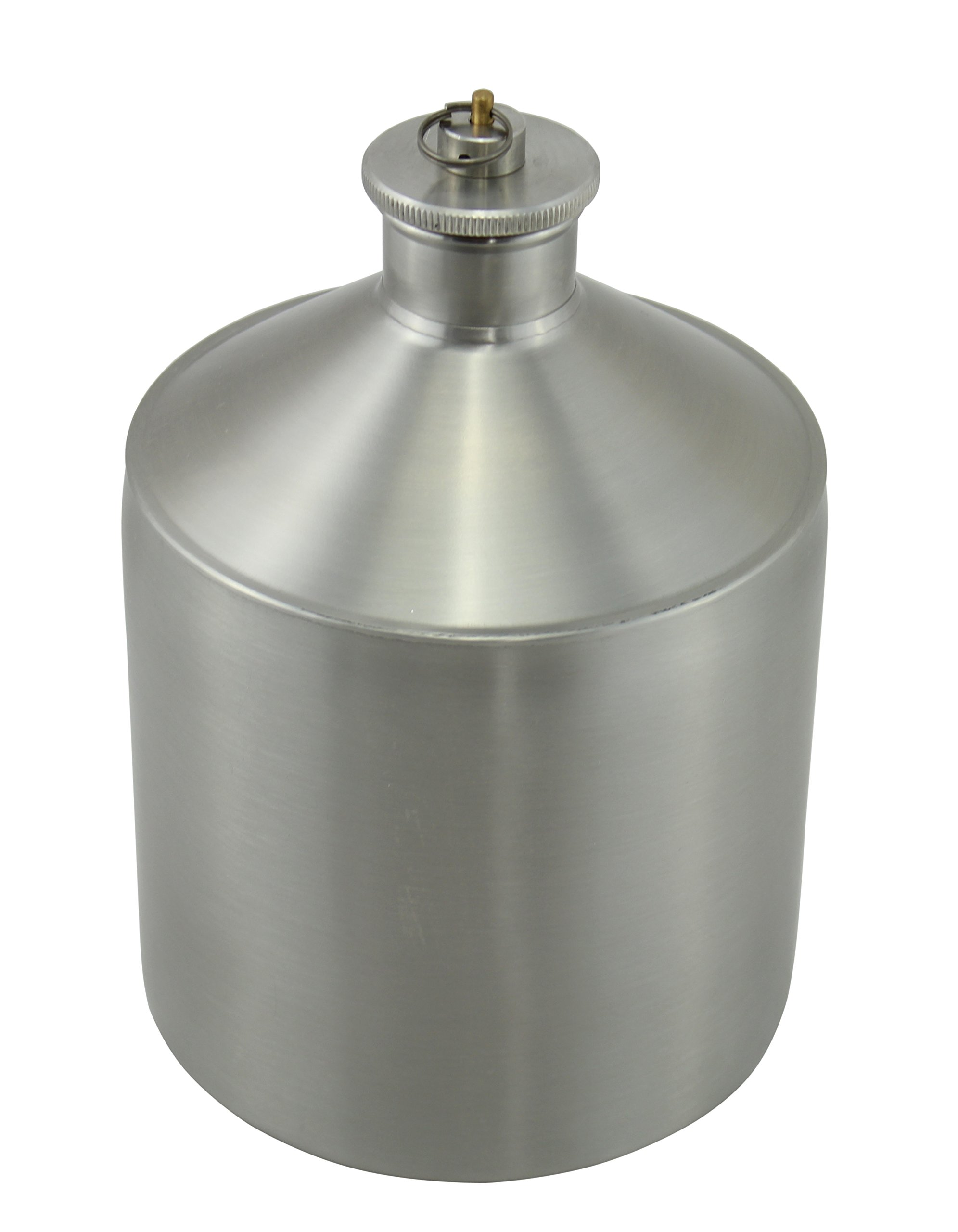 Stainless Steel Carboy Fermenter by The Weekend Brewer (64oz) by The Weekend Brewer
