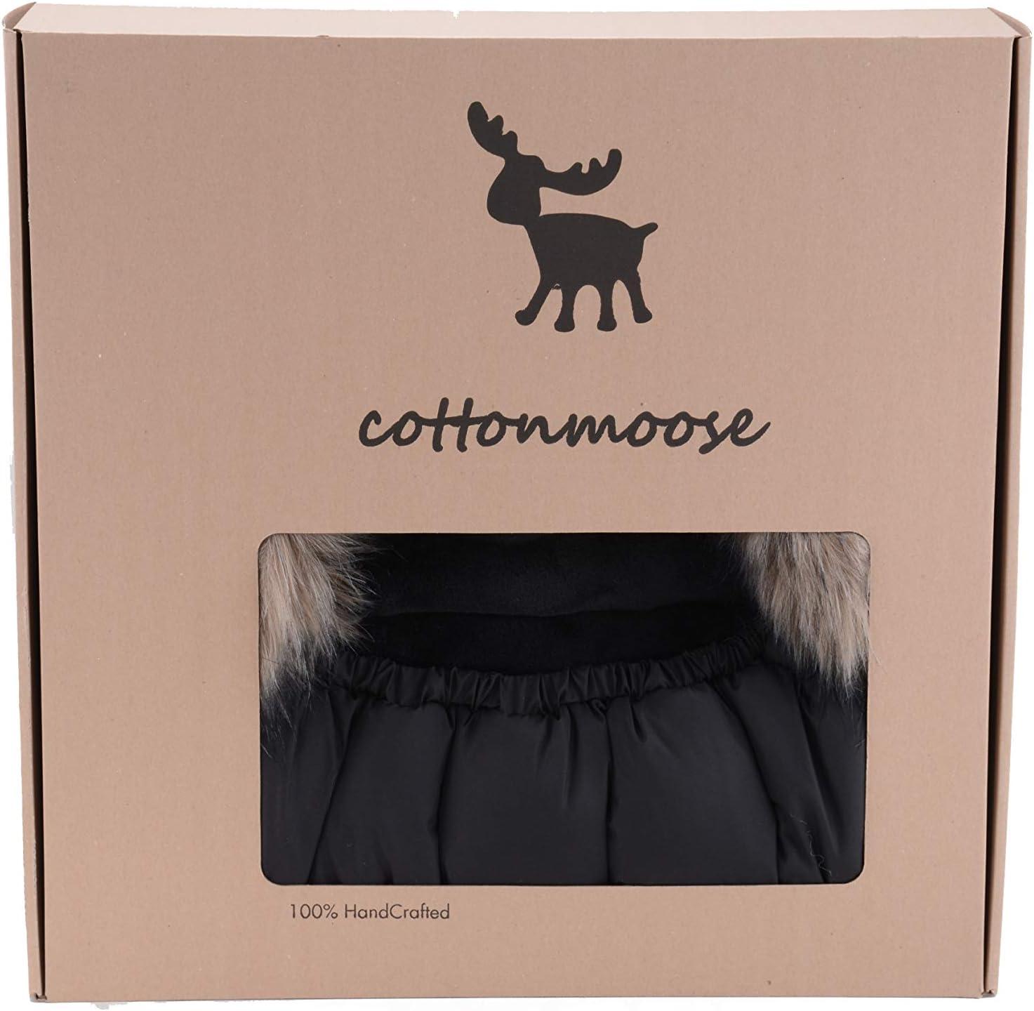 651 Shiny /– Silver 100 x 50 cm Cottonmoose Moose Shine Saco de invierno dormir t/érmico para carrito silla de beb/é universal abrigo polar disponible en diferentes colores