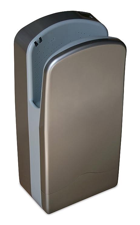 Nofer 01304.s Veltia secador de Manos Aluminio Plata 27 x 37 x 72 cm