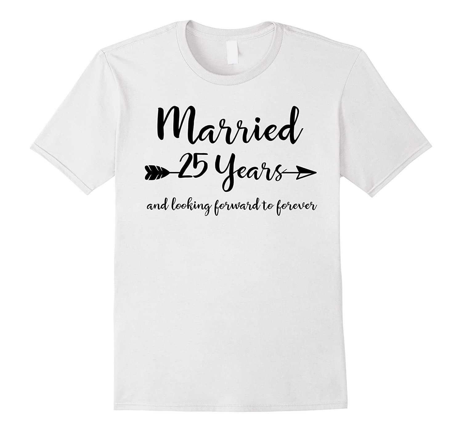 25th Wedding Anniversary Gift Ideas For Him: 25th Wedding Anniversary Gifts For Him Her Couples T-Shirt