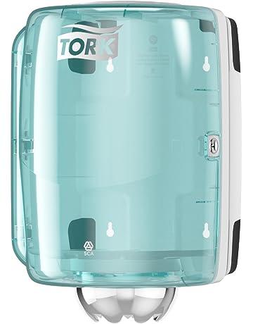 Tork 659000 Dispensador de alimentación central Performance / Soporte de papel mecha compatible con el sistema