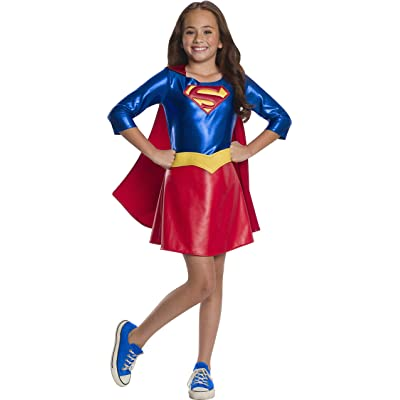Rubie's Costume Supergirl Dc Superhero Girls Deluxe Child Costume: Toys & Games
