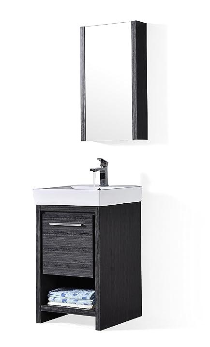 Delicieux Blossom   Milan 20u0026quot; Vanity Set (20u0026quot; Vanity Set With Medicine  Cabinet,