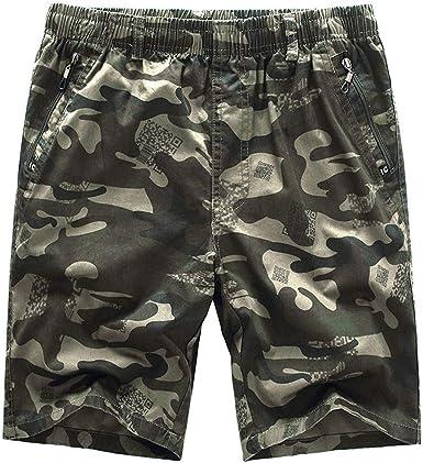 Pantalones Cortos para Hombre Verano Cargo Shorts Chinos Bermuda ...