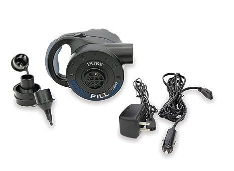 Intex Gonfleur électrique rechargeable (12 & 220 Volts) INTEX