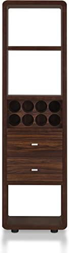 ioHOMES Tabbart Contemporary Standing Wine Cabinet