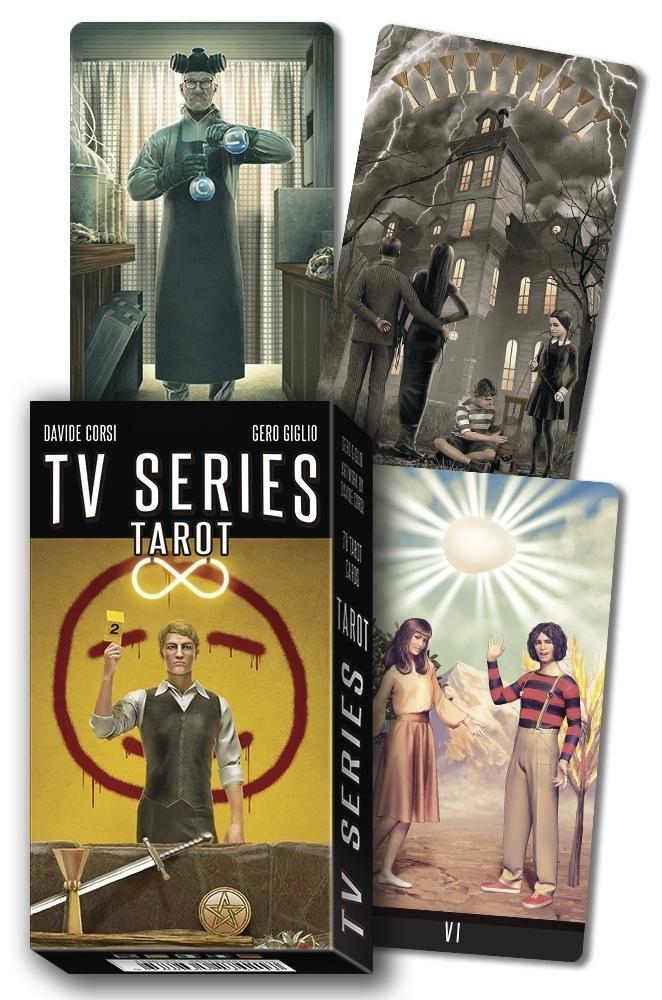 TV Series Tarot deck brand new! from Loscarabeo