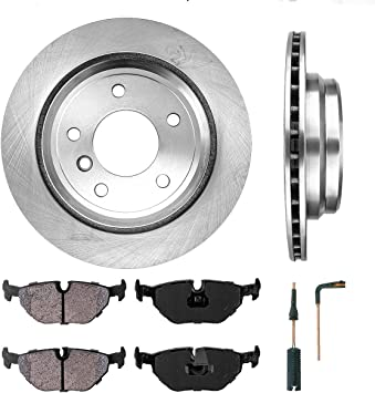 Front And Rear Brake Disc Rotors For BMW 540i 1996 1997 1998 1999 2000 E39