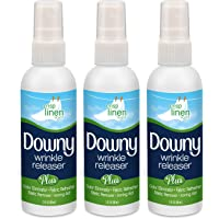 Downy Wrinkle Releaser, Travel Size, Cruise Accessories, Crisp Linen Scent 3 fl oz - 3 Pack