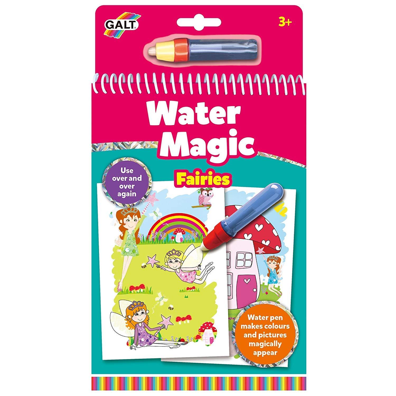 Galt Toys Water Magic Fairies, Colouring Book for Children 1004399