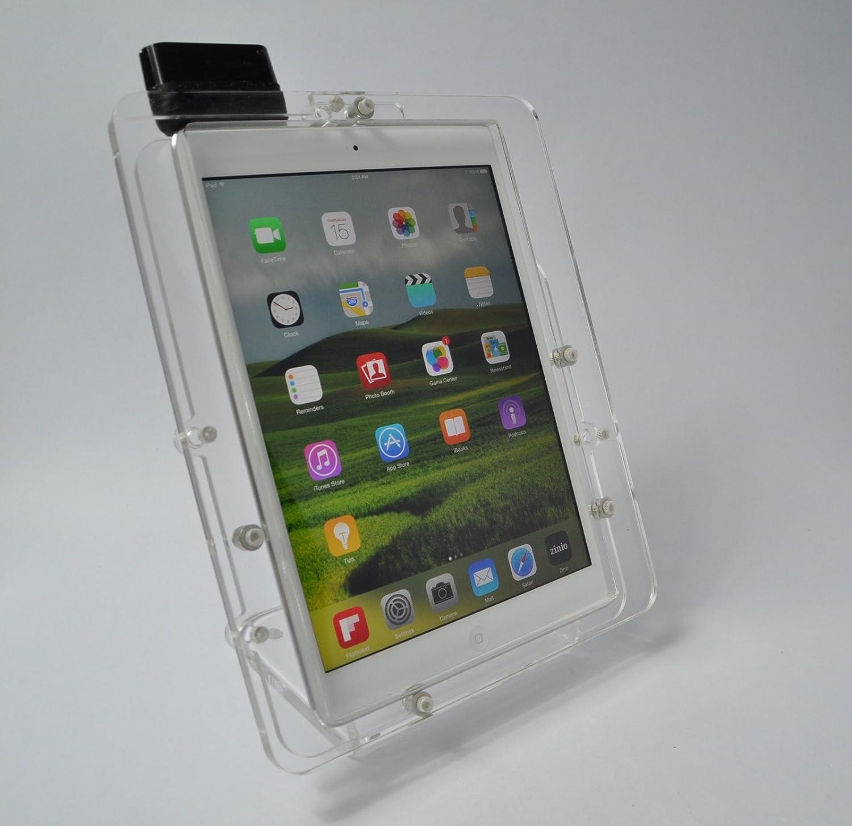 Amazon com: iPad Air Secureity Acrylic Stand for POS, Kiosk