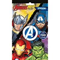 Marvel Avengers Boys Classic Comic Book Style 700 Stickers