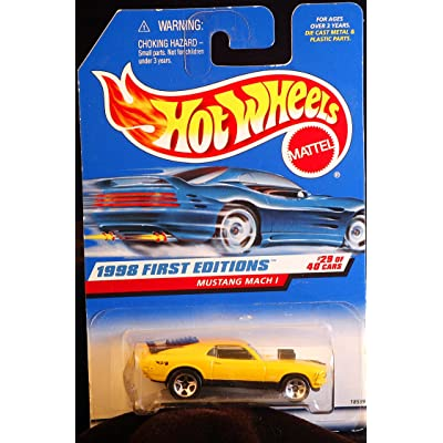 Hot Wheels 1998 First Editions #29 Mustang Mach 1: Toys & Games