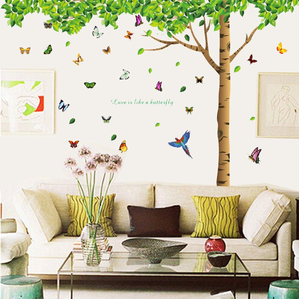 Amazon Com Carejoy Bright Butterfly Garden Decorative