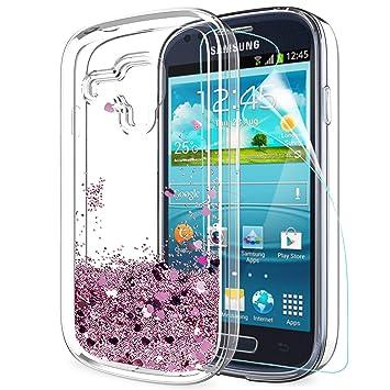 LeYi Compatible con Funda Samsung Galaxy S3 Mini Silicona ...