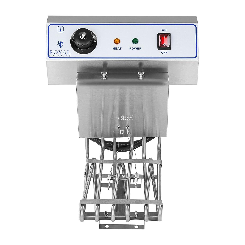 Royal Catering Freidora Eléctrica 1 x 10 Litros RCEF-10EH (3200 Watt, Grifo De Vaciado, Ajuste Automático De Temperatura): Amazon.es: Amazon.es