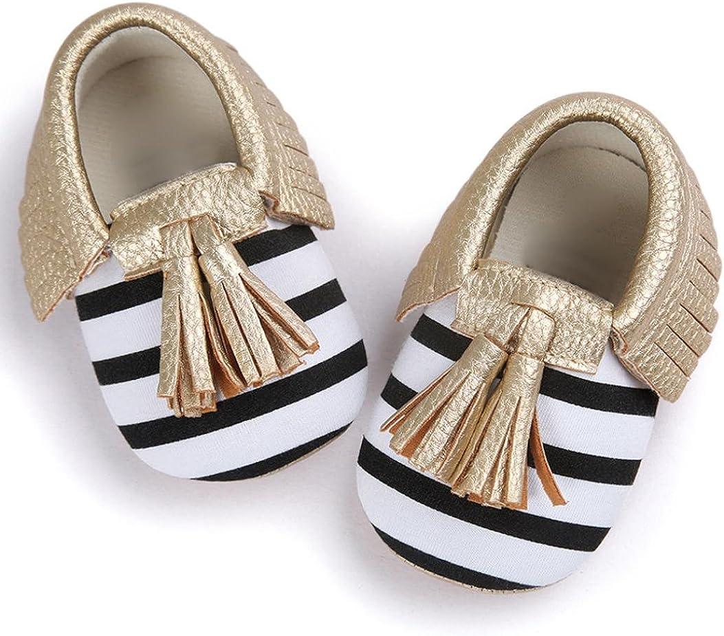 Moonker Baby Sandals 0-18 Months,Newborn Infant Boys Girls Sole Non-Slip Summer Prewalker Shoes First Walkers